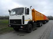 Новый самосвал-зерновоз МАЗ-5516А8-336
